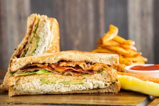Crab Meat, Bacon & Avocado Sandwich (Sid