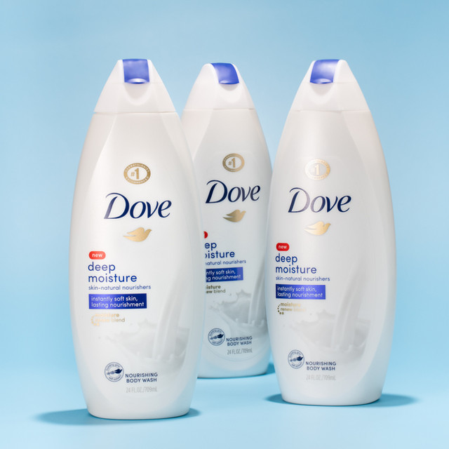 3 Dove Body Wash