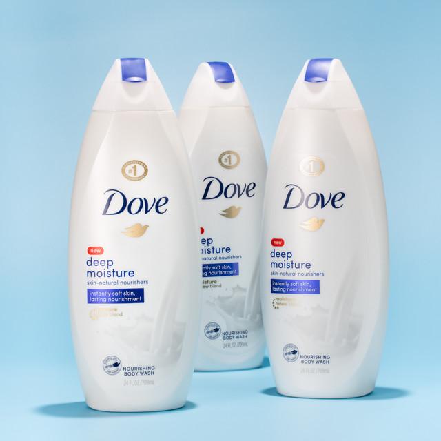 3 Dove Body Wash