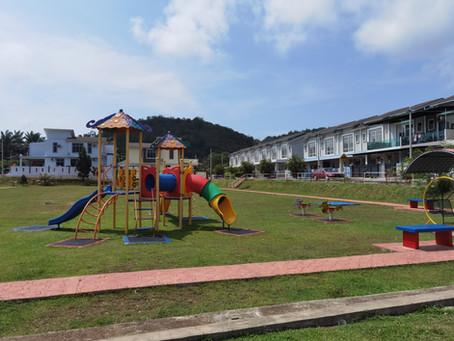 Taman Puncak Angsana-Sudah CCC& Unit Terhad-Teres 2 Tingkat   @Jerantut