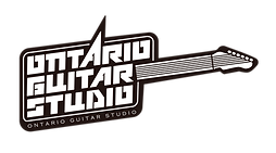 Ontario guitar studio logo english lessons
