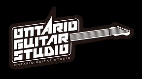Ontario guitar studio logo english lessons