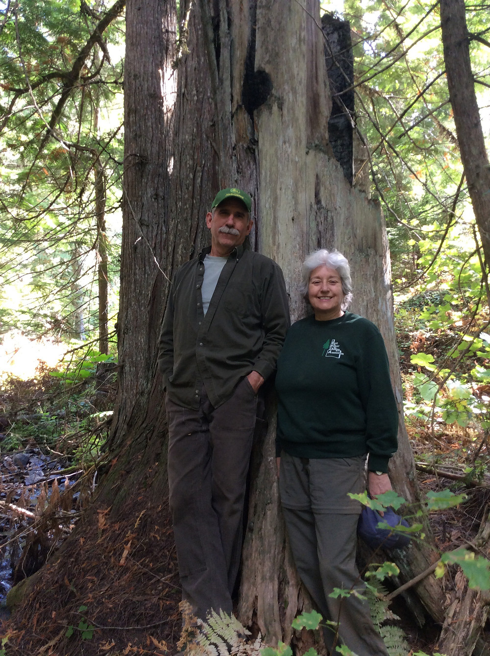 Kirk and Madeline David protected their Cedar Mountain forest