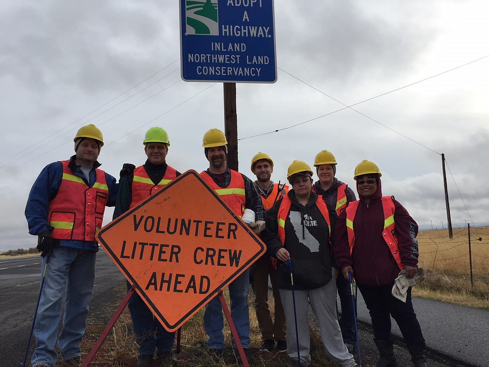Unicep helping INLC with highway cleanup