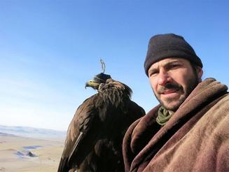 Hazen Audel speaking at Spokane Audubon program