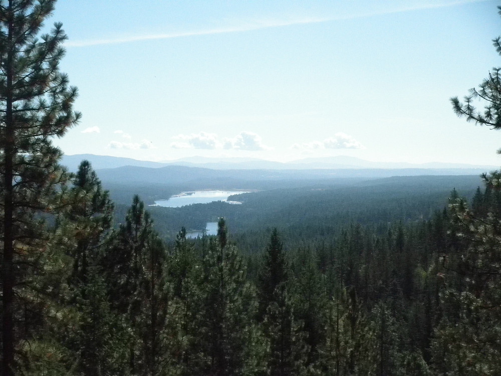View from Baker Lake property
