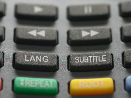 Lunga vita ai sottotitoli, l'essenza dell'accessibilità culturale e linguistica