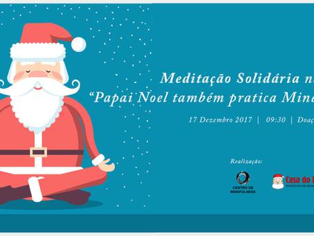 Papai Noel também Medita: Evento Beneficente de Natal na Lagoa com Aulão de Meditação