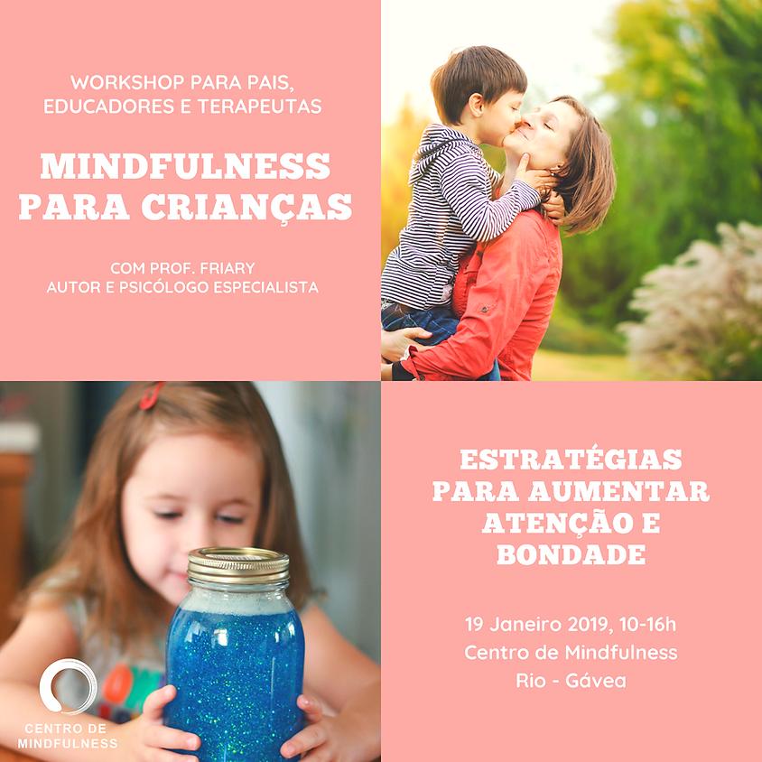 Wokshop de Mindfulness para Crianças