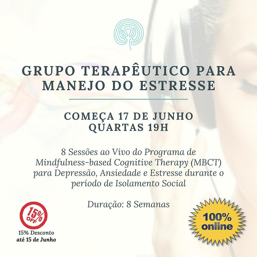 Grupo para manejo do Estresse - Online (pra todo o Brasil) Edição 100