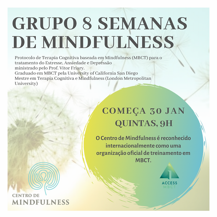 Curso de Mindfulness - 8 Semanas (Turma de Quinta) Ed. 94
