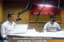 Entrevista na Rádio Manchete