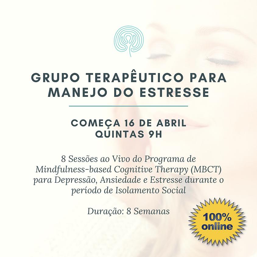 Grupo para manejo do Estresse - Online (pra todo o Brasil) Edição 96