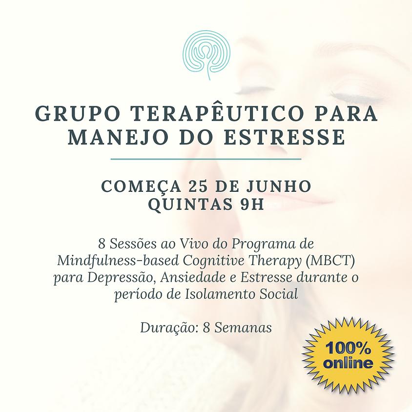 Grupo para manejo do Estresse - Online (pra todo o Brasil) Edição 101
