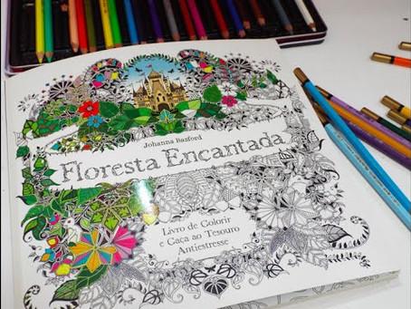 Qual a relação entre os livros de colorir e mindfulness?