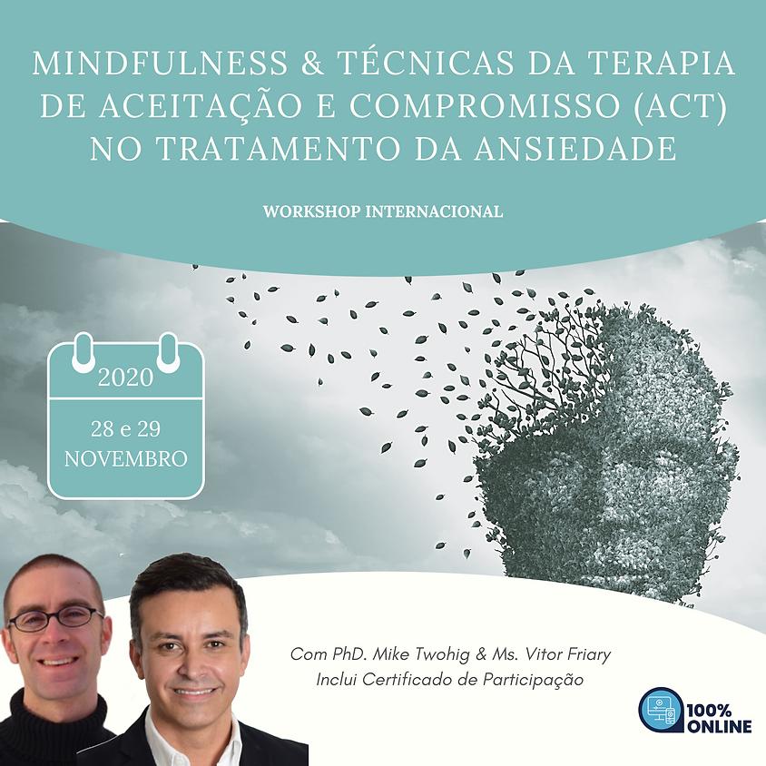 Workshop Internacional de Terapia de Aceitação e Compromisso (ACT)