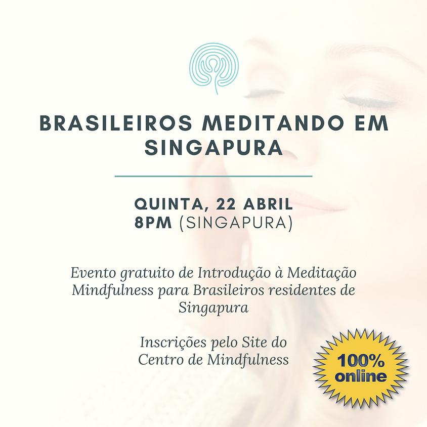 Brasileiros Meditando em Singapura