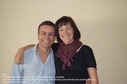 Vitor Friary e Sarah Bowen