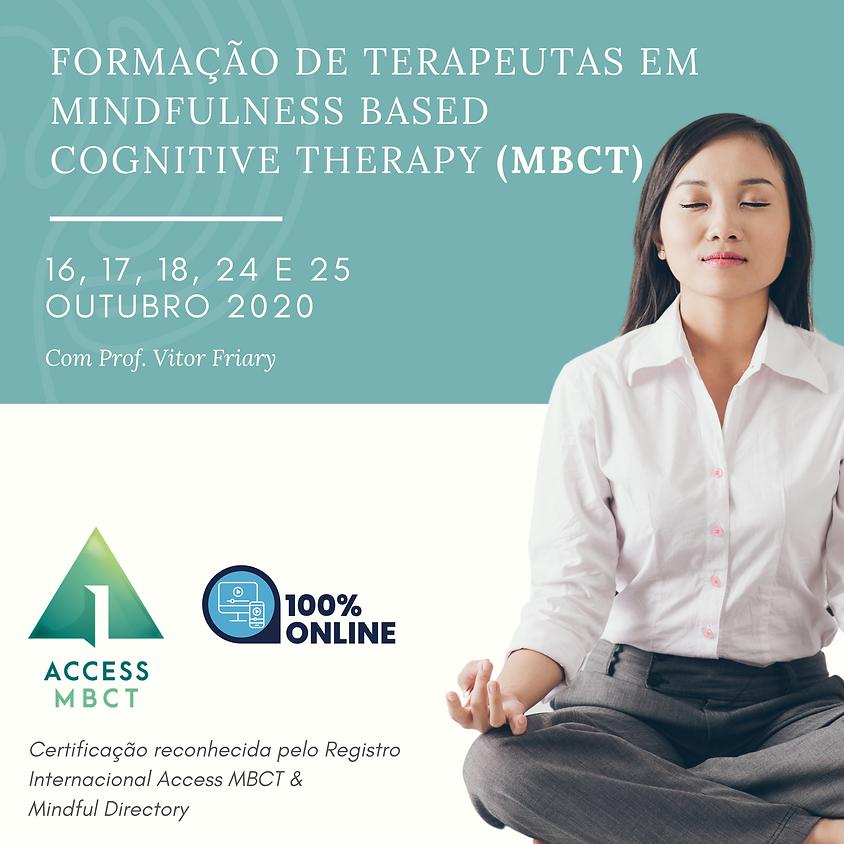 Formação Básica de Terapeutas em Mindfulness-based Cognitive Therapy (MBCT)