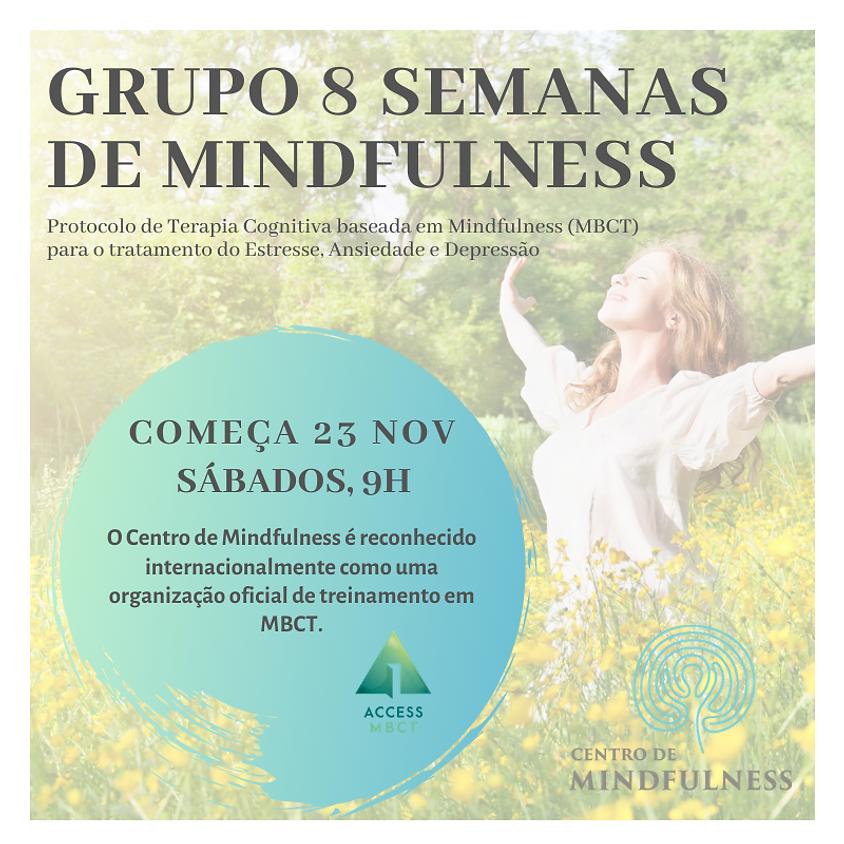 Curso de Mindfulness - 8 Semanas (Turma de sábado) Ed. 89