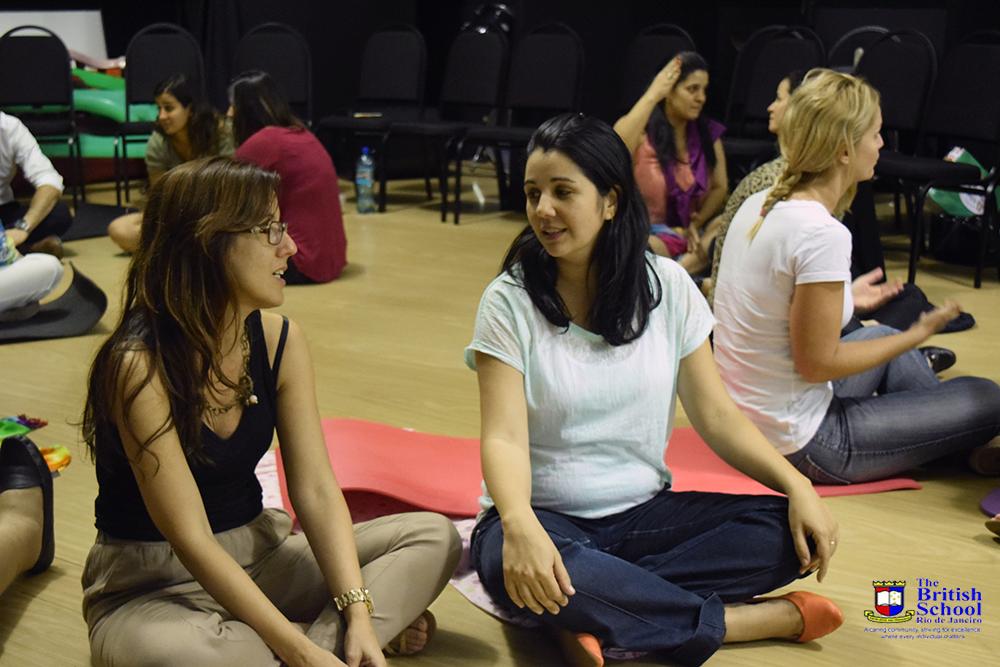 Treinamento de Mindfulness na Escola Britanica 2015 6