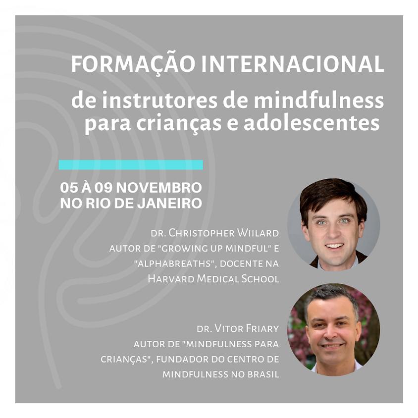 Formação Internacional de Instrutor de Mindfulness para Crianças e Adolescentes
