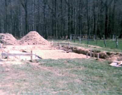 Baubeginn 1986