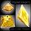 Thumbnail: Clear Giza Pyramid - Small - 50mm-60mm