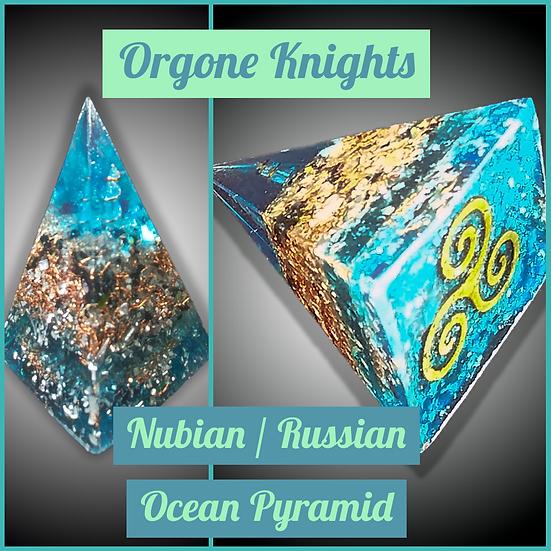 Ocean Nubian/ Russian Pyramid - Small - 40mm-45mm