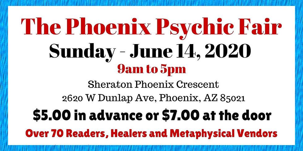 The Phoenix Psychic Fair - Sunday June 18th, 2020