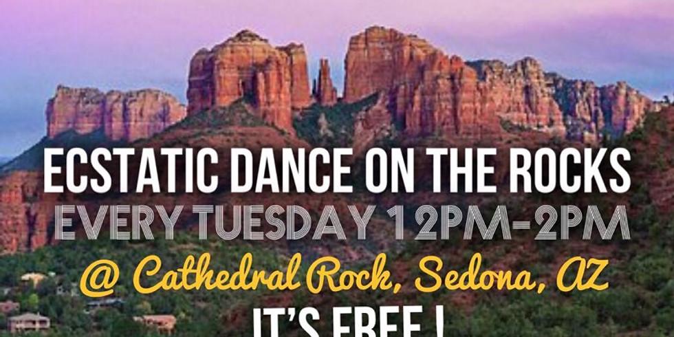 Free Ecstatic Dancing On The Rocks