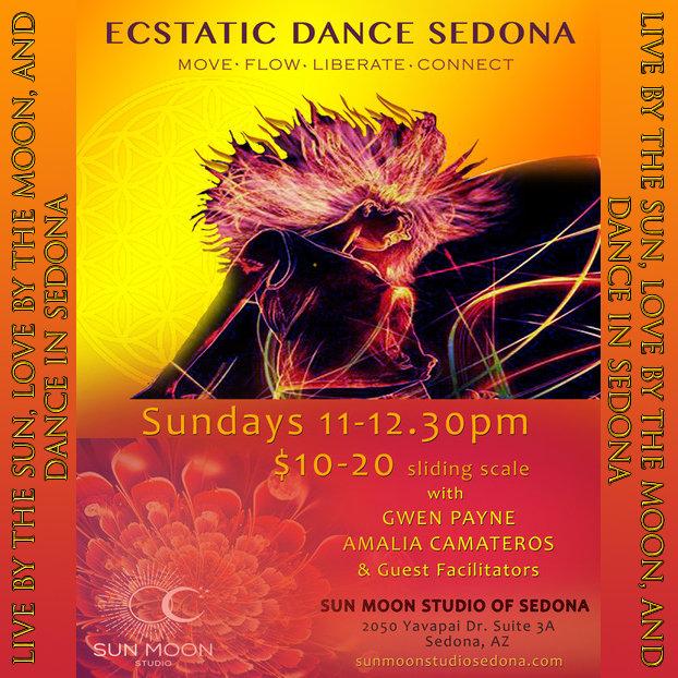 Ecstatic Dance Sedona Sunday's