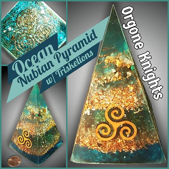 Ocean Nubian/ Russian Pyramid - Medium 70mm - 3 Triskelions