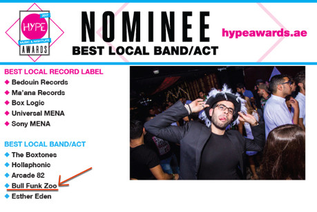Nominated for best act!