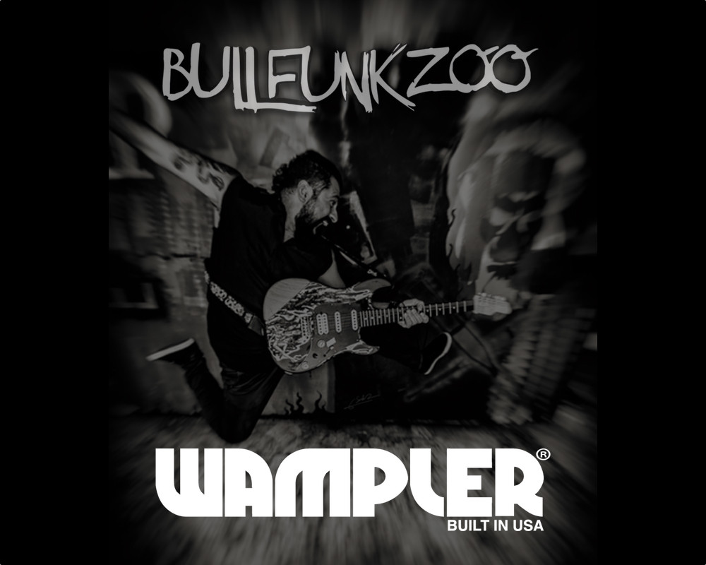 I'm so grateful to be part of the Wampler family, the best pedals in the world!