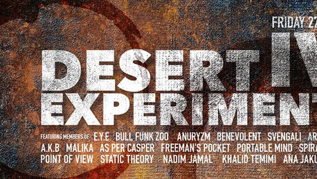 DESERT EXPERIMENT IV, May 27th