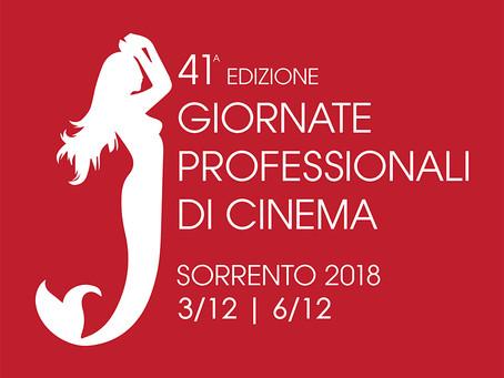 Fun Food Italia presente alla 41° edizione delle Giornate Professionali di Cinema di Sorrento