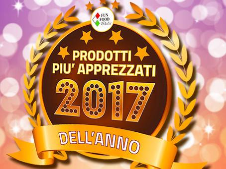 """I  NOSTRI """"PRODOTTI DELL'ANNO"""" 2017"""