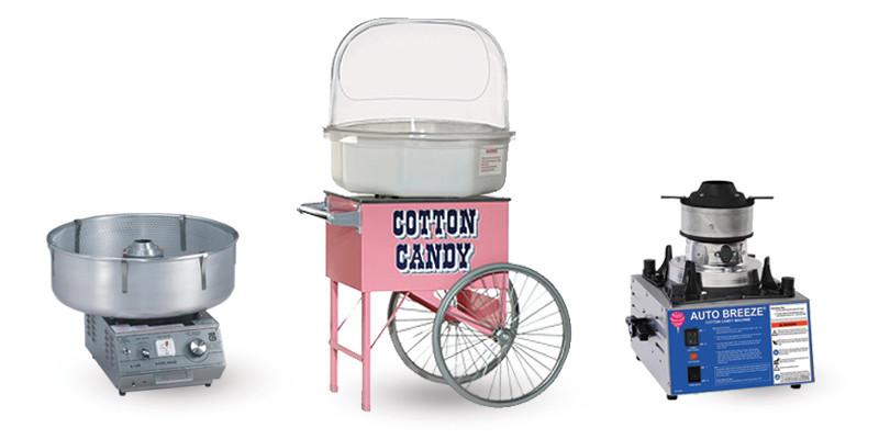 Macchine e Carretti per Zucchero Filato