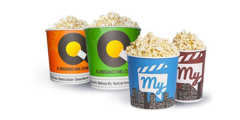 Bicchieri per Popcorn