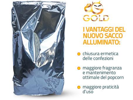 """Nuovo packaging per il popcorn """"pre-poppato"""" salato"""
