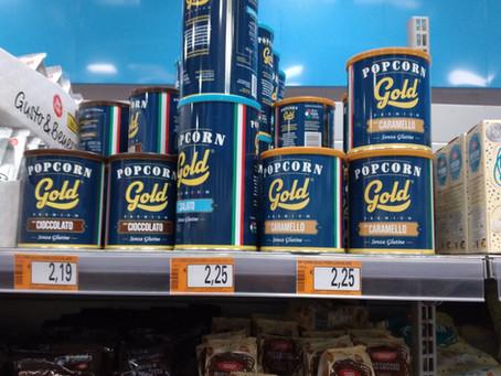 "POPCORN GOLD PREMIUM ""atterra"" in G.D.O."