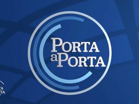 """""""Porta a Porta"""" (Rai 1) presso Fun Food Italia."""
