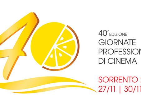 Giornate Professionali di Cinema - Sorrento 2017