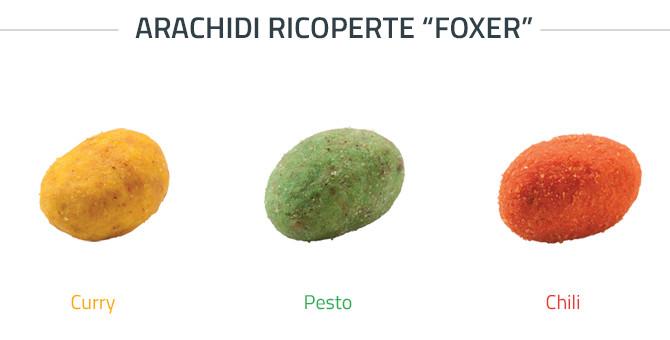 Foxer - Arachidi salate ricoperte