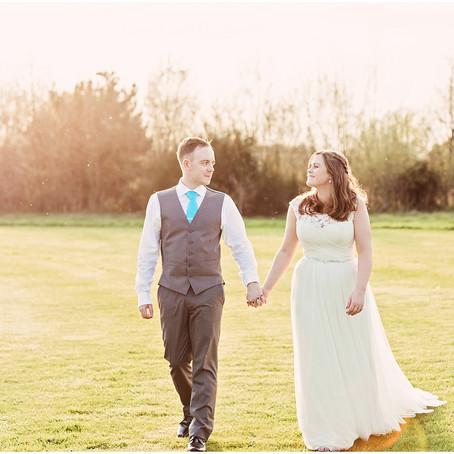 SARAH & TOM'S SUN-FILLED WEDDING AT THE GARDEN AT EDEN