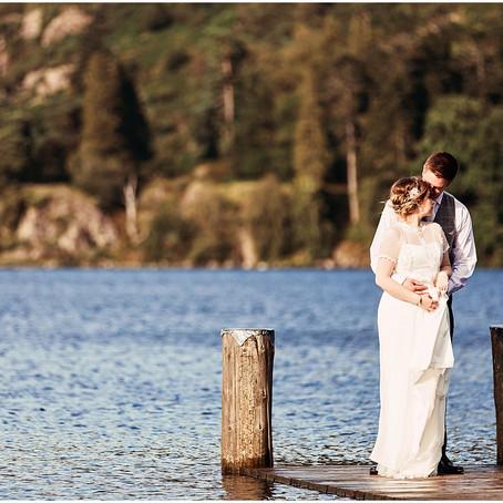REBECCA & ADAM'S LAIDBACK LAKESIDE WEDDING AT THE INN ON THE LAKE | THE LAKE DISTRICT