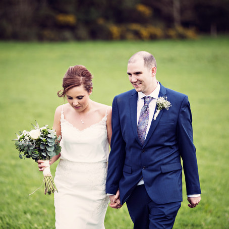 FEATURED ON BRIDES UP NORTH | A WOODLAND WEDDING AT HEALEY BARN