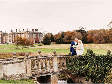 AIMEE & PAUL'S SHOW STOPPING, SURPRISE FILLED WEDDING AT MATFEN HALL | NORTHUMBERLAND