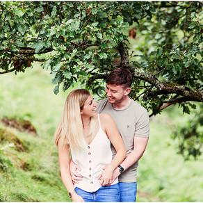 RACHAEL & DAN'S LAKESIDE PRE WEDDING SHOOT   ULLSWATER, LAKE DISTRICT